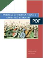Apuntes Historia de La Mujer en Europa y America