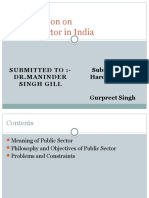 Public Sector in India