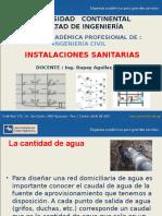2. INSTALACIONES SANITARIAS
