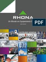 Catalogo Rhona -Agosto-2015