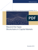 McKinsey CIB WP12 Blockchains in Capital Markets 2015