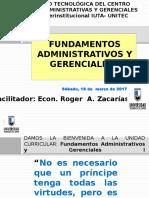Fundamentos Administrativos y Gerenciales Final