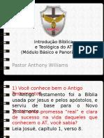 AULA 02 - Int. Bíblica - Gênesis