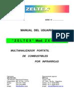 Manual Del Usuario ZX101C-Uy
