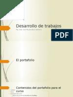 El Portafolio y Monografía