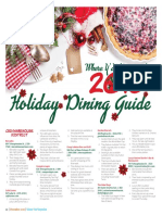 2016 Holiday Dining Guide