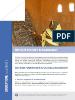 Refugee Teacher Management