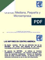 Grande, Mediana, Pequeña y Microempresa en Centroamerica