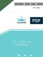 Pen Display WIN Manual