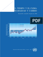 WMO Weather and Climate s