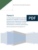 Tema 5 Auxiliares Administrativos UCM