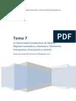 Tema 7 Auxiliares Administrativos UCM