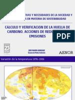Cálculo y Verificación de La Huella de Carbono.2012