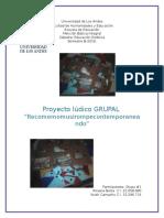 Proyecto Ludico Grupal Estetica