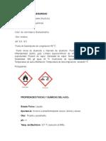Ficha Tecnica de Seguridad (Reactivos)