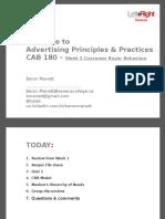 CAB180 AP&P Week2 LectureNotes-Jan2015-3