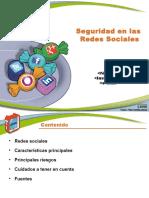 Fasciculo Redes Sociales Slides