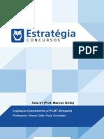 Estatuto PDF 203027 Aula 01 LIMPARLcurso 30701 Aula 01