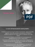 Melanie Klein y Psicologia