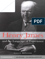 Henry James and the Language of Experience