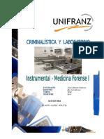 Instrumental Medicina Forense