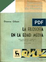 Gilson, Étienne - La Filosofía en la Edad Media.pdf