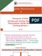 Transports Phenomena 3 - Panas yang mengalir mell bidang paralel.pptx