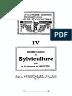 Diccionario de Silvicultura Parte 1