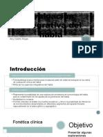 Evaluación Integrativa Del Habla2
