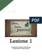 1.Dire, Fare, Partire Lezione 1.pdf