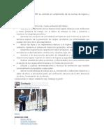 El Objetivo Del Área CyMAT Es Controlar El Cumplimiento de Las Normas de Higiene y Seguridad en El Trabajo