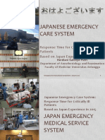 Japanese emergency care system