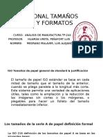 Internacional Tamaños de Papel y Formatos