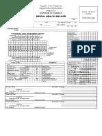 F. Dental Certificate