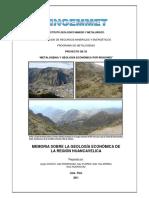 2011 GE33 Memoria Geologia Economica Huancavelica