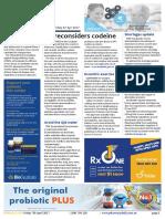 Pharmacy Daily for Fri 07 Apr 2017 - NZ reconsiders codeine, FDA biosimilar guidance, iNova bids below expectations, Events Calendar and much more