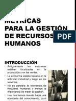 Métricas para la Gestión de Recursos Humanos