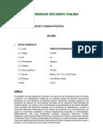 Derecho Internacional Privado Ricardo Palma