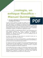 Practico de Metodologia - Tecnología un enfoque Filosófico Manuel Quintanilla