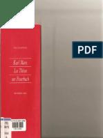 Labica, Marx, Thèses sur Feuerbach