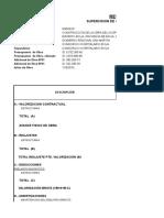 resumen VAL 02  adicional de obra N° 01
