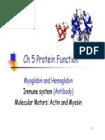 biochem protein function 5