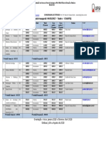 Cronograma Do Curso de Sociologia