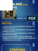 Implementing Strategies at Different Levels