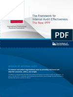 The Framework for Internal Audit Effectiveness the New IPPF Brochure