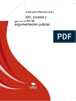 BONORINO, P.R. Abducción y Procedimiento Probatorio