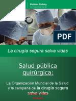 Cirugia Segura Salva Vidas