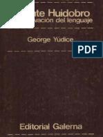 Yúdice, George - Vicente Huidobro y la motivación del lenguaje.pdf