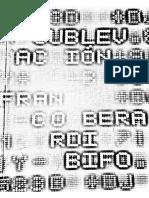 La sublevación - Franco Berardi