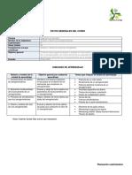 Análisis y Diseño de Aerogeneradores PLANEACIÓN CUATRIMESTRAL
